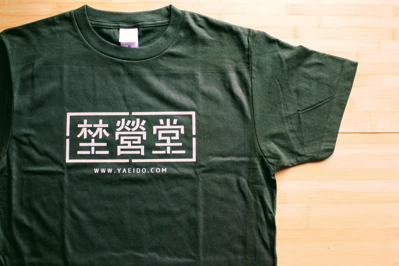 埜營堂 チームTシャツ
